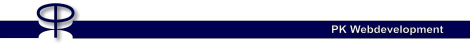 PK Webdevelopment   Webdesign & Software Ontwikkeling
